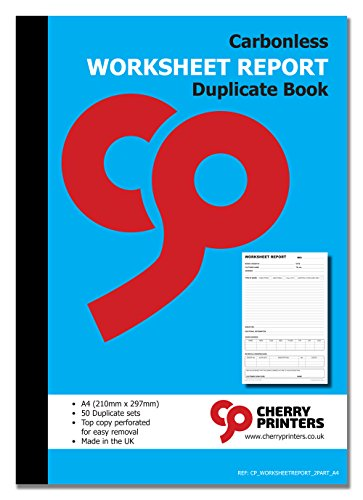 Durchschreibheft, selbstdurchschreibend, A4, 50 Sets