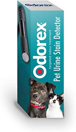 Odorex UV Blacklight – Instantly Find Hidden Urine Stains from Cats & Dogs   Best UV Handheld Blacklight Torch - Eliminate Cat & Dog Pee Odour Once and for All   Portable Blacklight