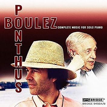 Boulez: Complete Music for Solo Piano