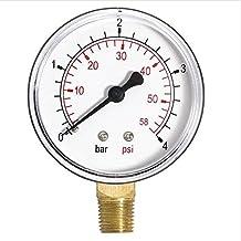 """Manómetro de entrada lateral de 1/4 """"bspt"""