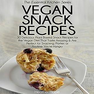 Vegan Snack Recipes cover art