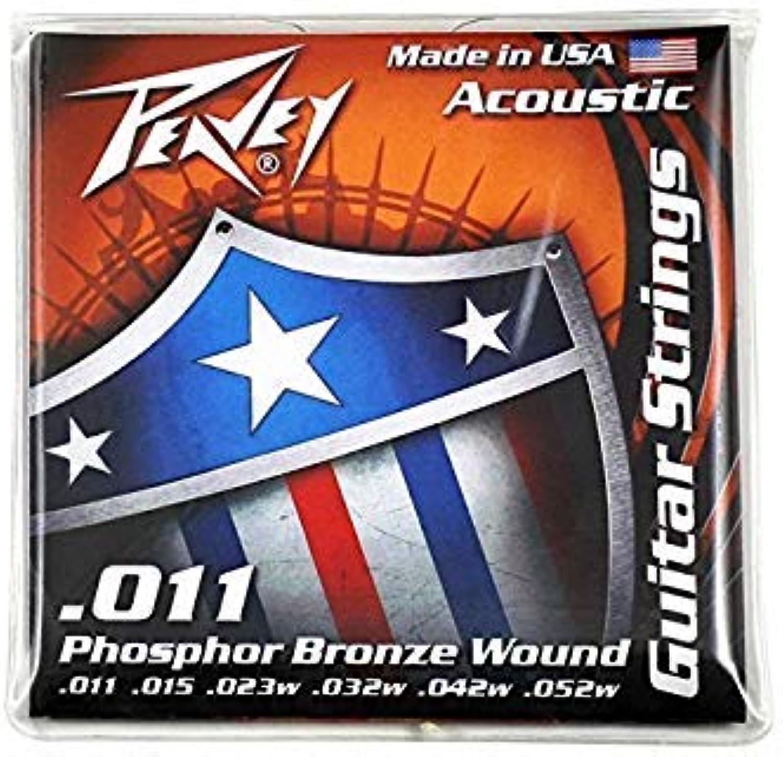 Peavey Phosphor BronzeBalanced Acoustic Guitar Strings 11s