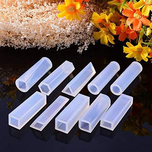 Funihut 115-delige sieradenset – vormen van siliconen voor het vormen van hangers, oorbellen, ornamenten – creëer je eigen sieraden, kristalhelder