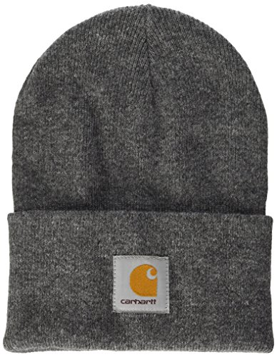 Carhartt Acrylic Watch Hat Chapeau Fedora, Gris (Dark Grey Heather), Unique (Taille Fabricant: Taglia Unica) Mixte