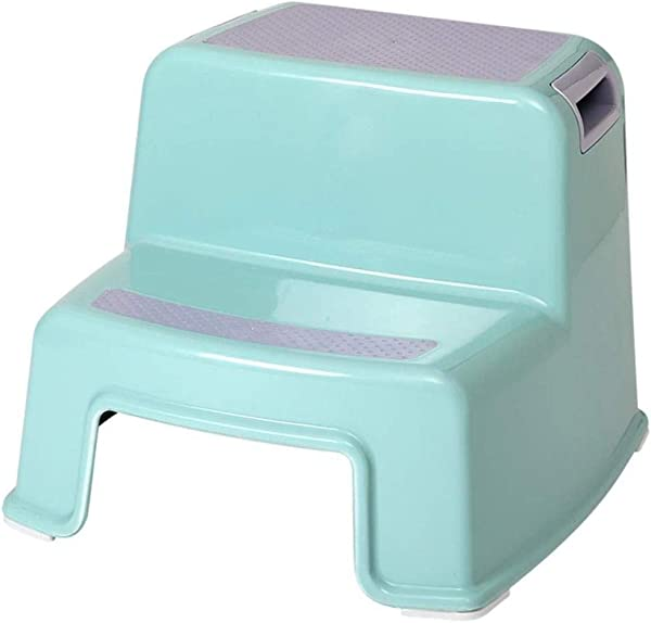 RDMZ Plastic Stepping Stool Multifunction Home Stools Strong And Durable Color Blue
