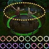 Sposuit Trampoline Lights, Remote Control Rim LED Light for 10ft, 12ft, 14ft, 15ft Fitness...