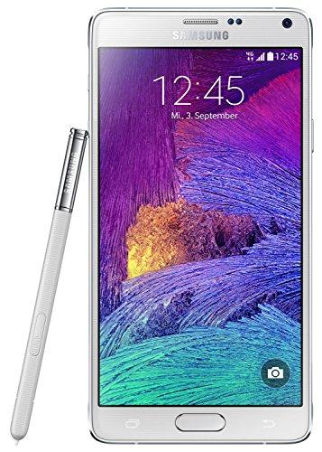 Samsung Galaxy Note 4 Smartphone (5,7 Zoll (14,5 cm) Touch-Display, 32 GB Speicher, Android 4.4) weiß