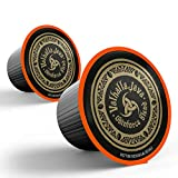 VALHALLA JAVA Single Serve Coffee Pods [10 Count] World's Strongest Coffee, Capsule Cup, USDA Certified Organic, Fair Trade, Arabica and Robusta Beans
