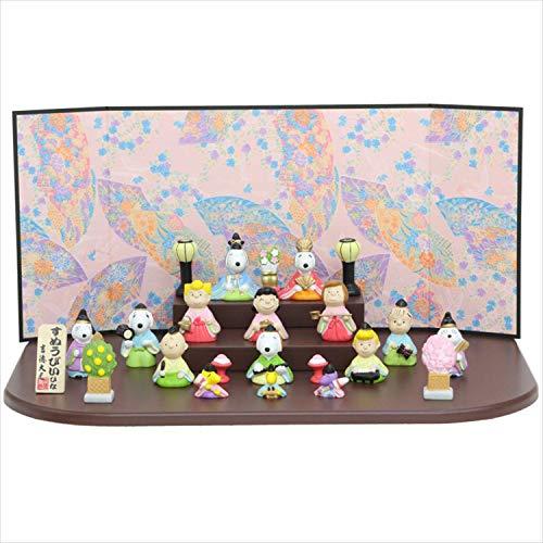 スヌーピー 雛人形 段飾り ピーナッツ 15人飾り