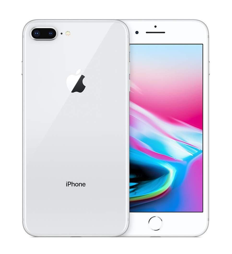 Apple iPhone 8 Plus, Boost Mobile, 64GB - Silver - (Renewed)