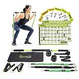 Gymwell - Juego de entrenamiento de resistencia portátil para el hogar, la oficina o al aire libre con 3 juegos de bandas de resistencia (gimnasio completo 2.0)
