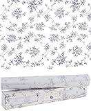 Scentennials Lavender (12 Sheets) Scented Fragrant Shelf & Drawer Liners 16.5' x 22' - Great for Dresser, Kitchen, Bathroom, Vanity & Linen Closet