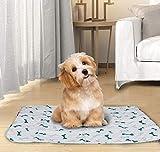 M.Q.L. Tapis de dressage lavable pour chiens, stylos, chiots, tapis absorbants pour gamelle d'eau pour chien Taille L 40 x 60 cm