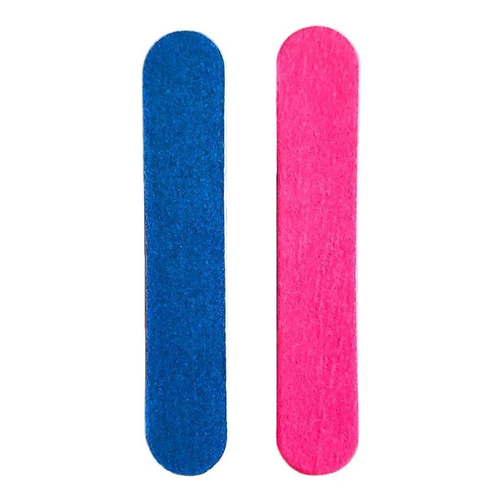 ドック後ろに神秘的なBETTER YOU (ベター ュー) 両面 ネイル 砂紙 爪やすり 木製 ネイルツール 使いやすい 10個入れ