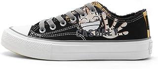 pZgfg scarpe da vela One Piece Anime scarpe di cotone autunno e inverno Sowie studenti scarpe in velluto Canvas scarpe ner...