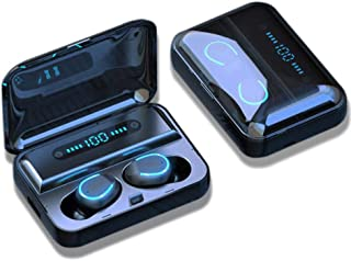 True wireless earbuds 2000mAh LCD Display F9 5.0 TWS IPX5 Waterproof Touch Control Bluetooth v 5.0 Earphones Mini Wireless...