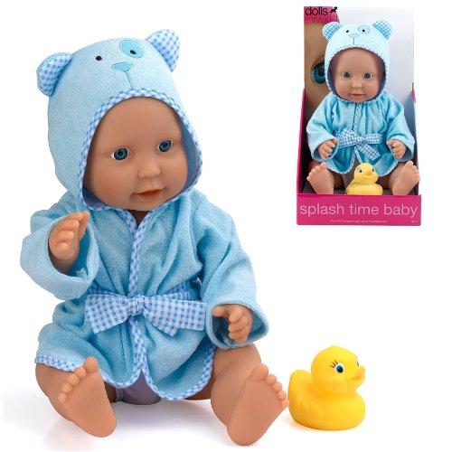 Dolls World Poupon Splash Time bébé garçon