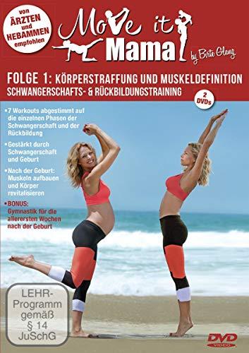 Move it Mama - Schwangerschafts- & Rückbildungstraining Folge 1: Körperstraffung und Muskeldefinition [2 DVDs]