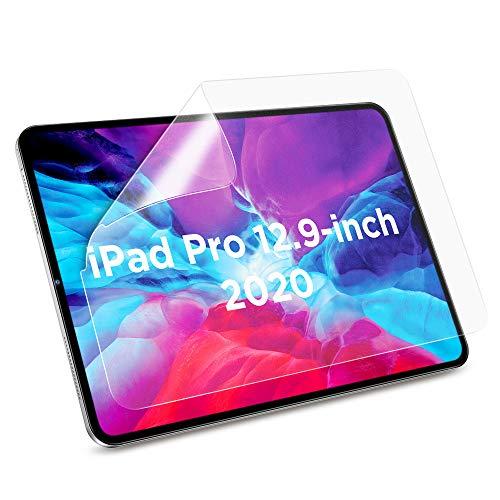 """ESR Protector de Pantalla Mate para iPad Pro 12.9"""" 2018 [3 Piezas], Alta Sensibilidad Táctil, Compatible con Apple Pencil, Antirreflejos, Resistente a Huellas, Pet Suave para iPad Pro 12.9 2018"""