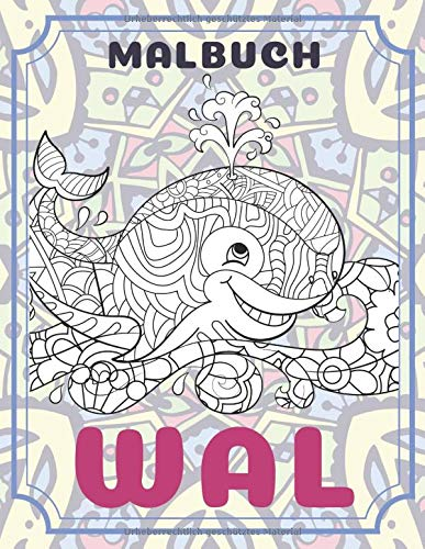 Wal - Malbuch 🐳