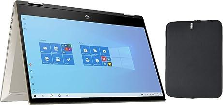"HP Pavilion x360 14"" FHD Touchscreen 2-in-1 Convertible Laptop, Intel Core i5-1035G1, 8GB RAM, 256GB PCIe SSD, Backlit Key..."