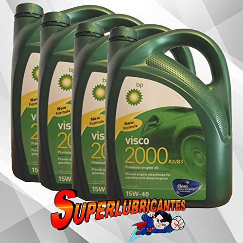 BP Visco 2000 15W40 4x5L(20Litros)