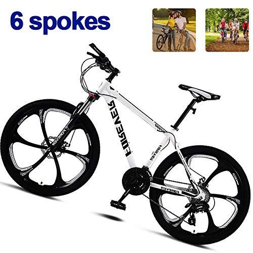 bon comparatif M-TOP vélo VTT frein à disque adulte, 26 pouces fibre de carbone vélo de route fourche avant… un avis de 2021