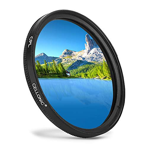 Polfilter CPL Filter für Ø 72mm, Zirkularer Polarisationsfilter