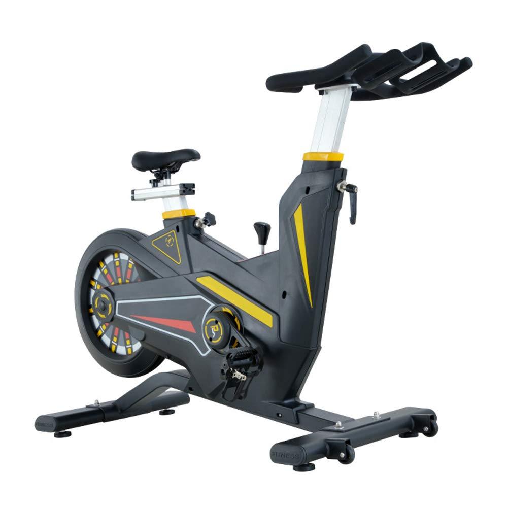HLEZ Bicicleta Estática de Spinning Profesional, Ajustable ...