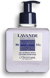 L'Occitane Cleansing Lavender Liquid Hand Soap with Lavender Essential Oil, 10.1 fl. oz.