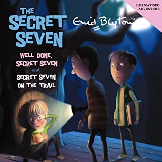 Well Done Secret Seven & Secret Seven on the Trail cover art