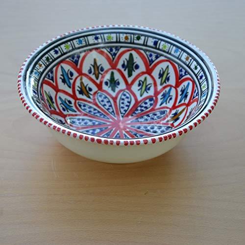 Bakir Salatschüssel, Durchmesser 30 cm, Rot