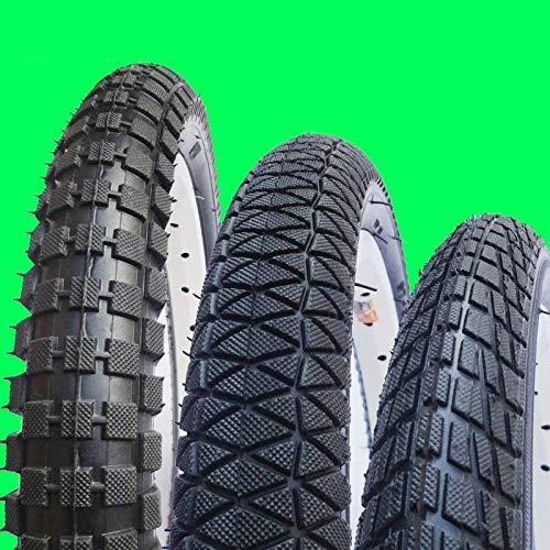 LXRZLS Neumáticos de Bicicleta niños 12/14/16 / 18inch * 1,75/2.125/2.4 Neumáticos Kid Bicicletas niños de la Bici Bike Tires Infantil Ciclismo Piezas (Color : 18 X 2 4)