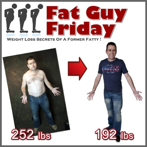 Fat Guy Friday audiobook cover art