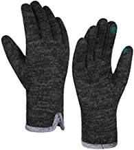Achiou Women Winter Touchscreen Gloves Warm Soft Comfortable Elastic Fluff Lined Texting Glove for Traveling, Working