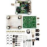 S-Pixie CW QRP Ham Amateur Shortwave Radio Transceiver 7.023 7.050 Mhz DIY Kits with Transparent Acrylic Shell