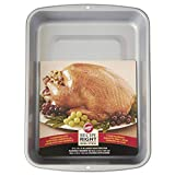 Wilton Recipe Right Non-Stick Roasting Pan, Excellent for Turkeys, Roasts, Chickens and Hams, A Must...