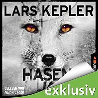 Hasenjagd     Joona Linna 6              By:                                                                                                                                 Lars Kepler                               Narrated by:                                                                                                                                 Simon Jäger                      Length: 16 hrs and 3 mins     Not rated yet     Overall 0.0