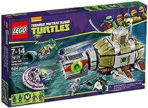 Tracking of Sea Turtles Turtles Submarine (Lego 79121)