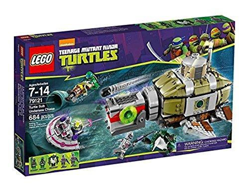LEGO Ninja Turtles Tm 79121 - Inseguimento Sottomarino