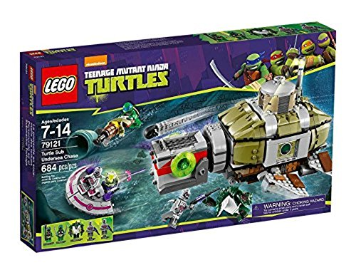 LEGO Teenage Mutant Ninja Turtles 79121 - Verfolgungsjagd im U-Boot