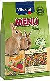 Vitakraft - Menú Premium Vital para Conejos con Cereales, Manzanas y Verduras - 5 kg