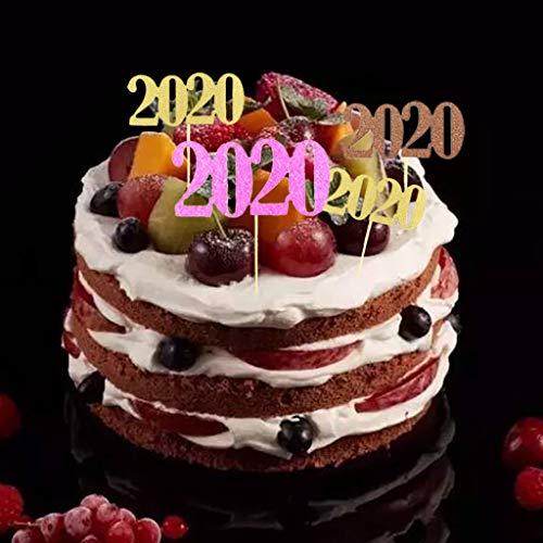 Moent 2020 - Cartel para tartas navideñas (24 unidades), diseño de bandera inglesa