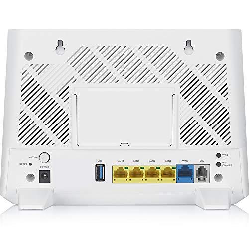 Zyxel AC1200 Wireless Dual-Band 11ac xDSL Gateway Modem Router (VMG3625-T50B)