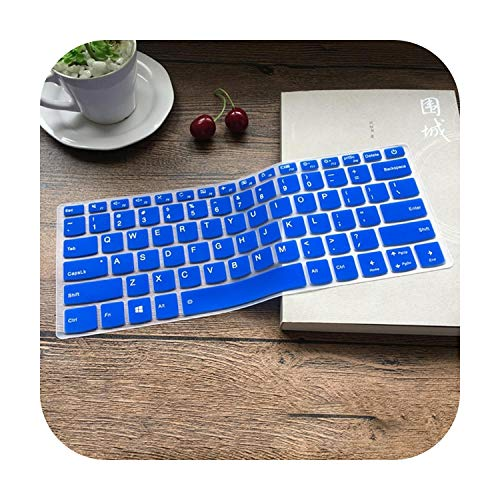 Roit Silicone Keyboard Protector for Lenovo Yoga 920 13/920 14 2 in 1 14 13 9 Inch Yoga 6 Pro 13 9 Inch Laptop blue Blue