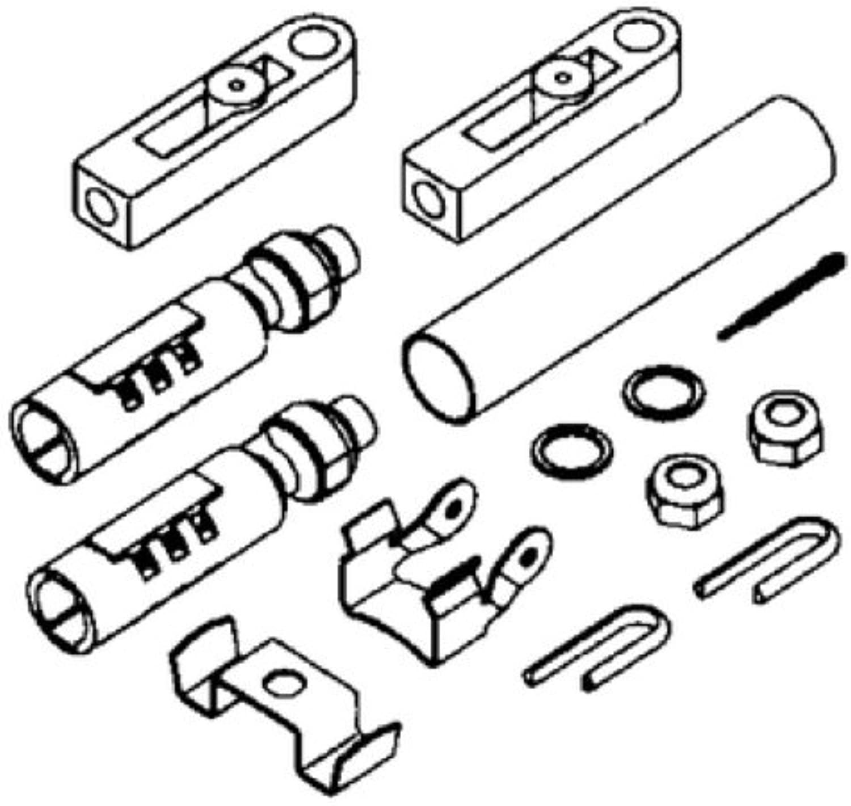 Uflex Connection Kit For Johns Evin Engines K57