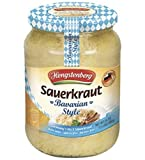 Bavarian Style Sauerkraut From Germany, 24 Ounce Jar