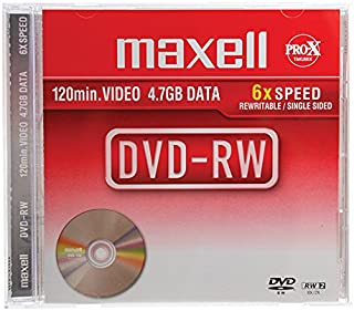 Maxell max-dmw44jc–DVD + RW Virgin