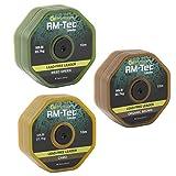 Ridgemonkey RM-Tec Lead Free Leader, Breaking Strain: <span class='highlight'>50l</span>b, Colour: Weed Green