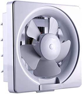 Ø195mm Ventilation Wall or Ceiling Mounted Exhaust Fan Extractor Fan with Back Draught Shutter for Kitchen Bathroom Restaurant 30W(Airflow Speed: 300m³ /h),LFW15A